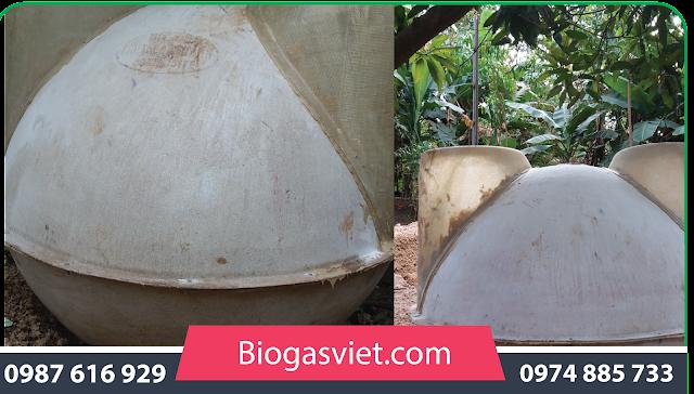 xu ly nuoc thai bằng hầm biogas