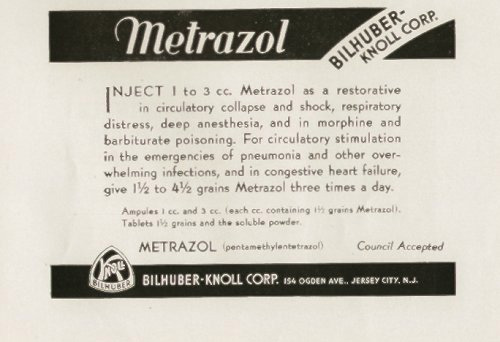 Metrazol Treatment