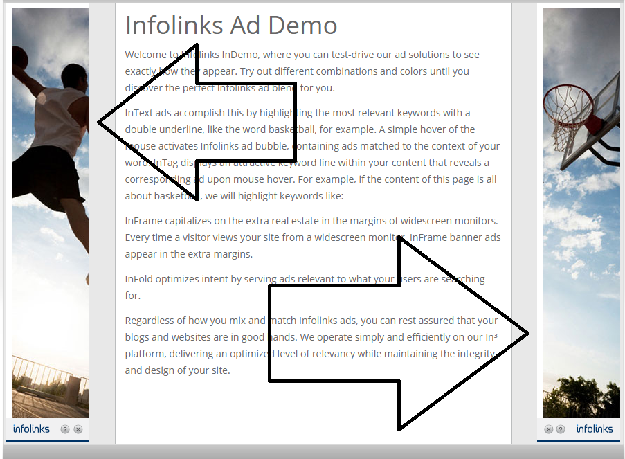 Infolinks Inframe Ads