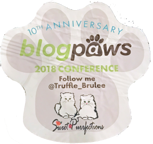 Sweet Purrfections logo paw print