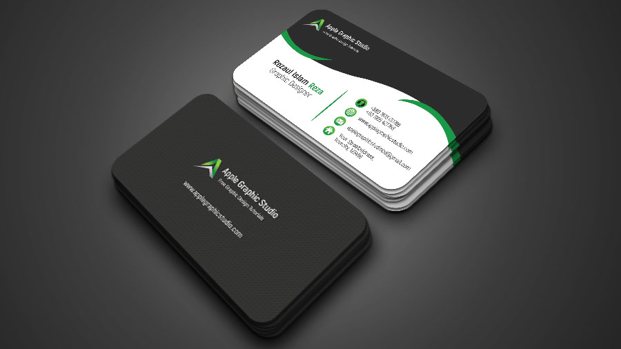 Creative business card design tutorial in photoshop apple graphic creative business card design tutorial in photoshop reheart Image collections