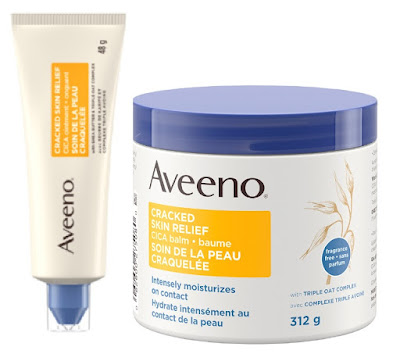 Aveeno Cracked Skin Relief CICA Ointment and Balm