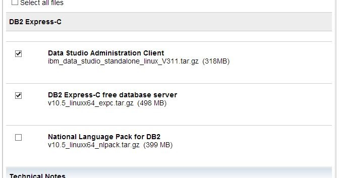 Database: IBM DB2 Express C Installation on Linux