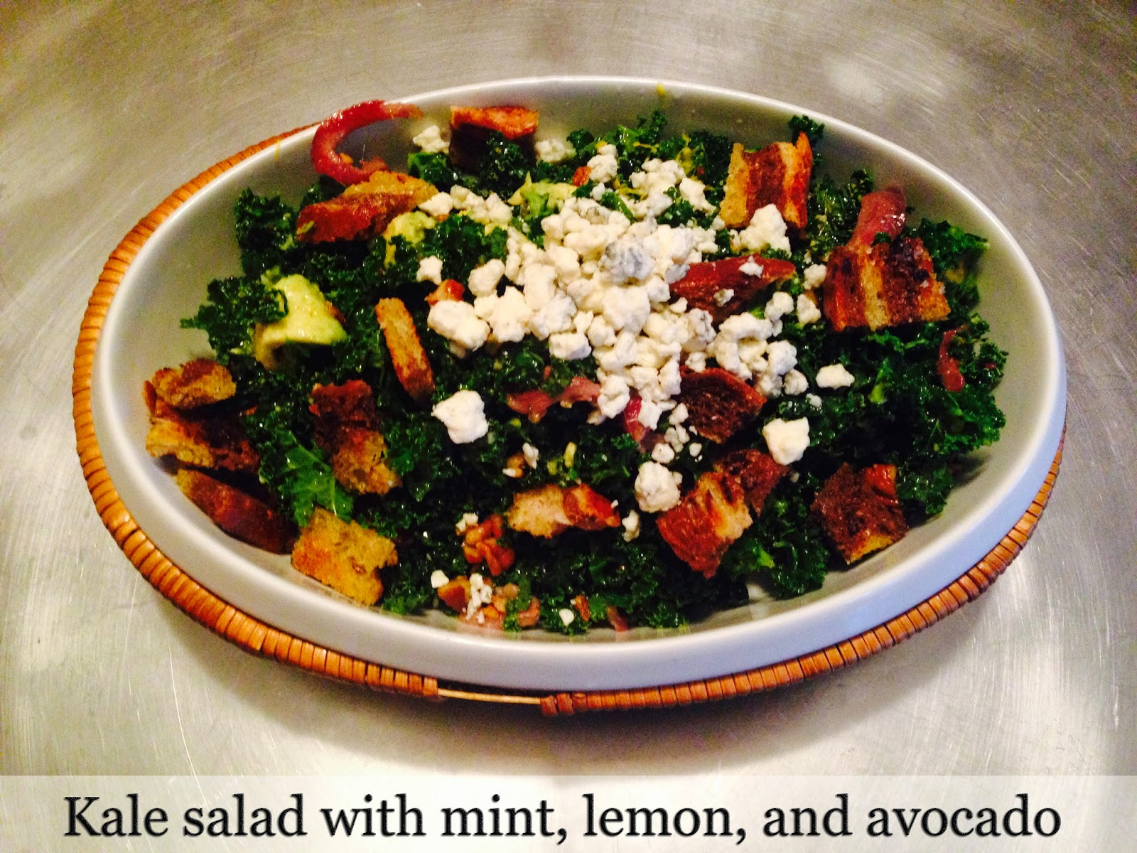 Buzzfeed Food - Food blogger Kale Salad