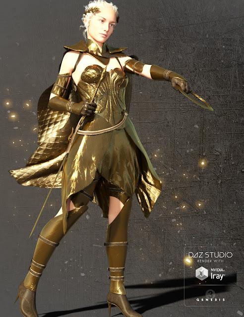 Minerva for Genesis 3 Female