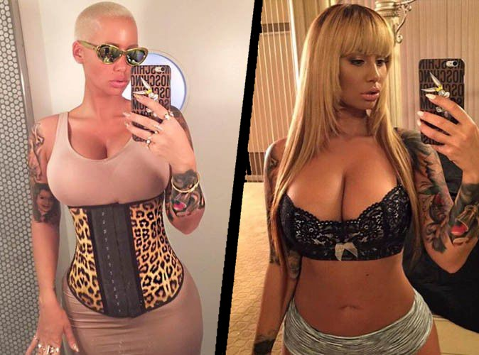 Amber Rose: a novel transformation 100% sexy!
