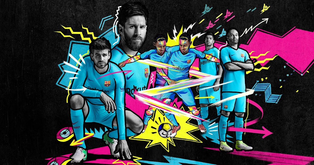 Barcelona Calendar Wallpaper : Barcelona away kit released footy headlines