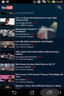 Sukses membuka youtube