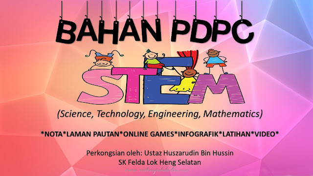 Bahan PdPC STEM (Science, Technology, Engineering, Mathematics)