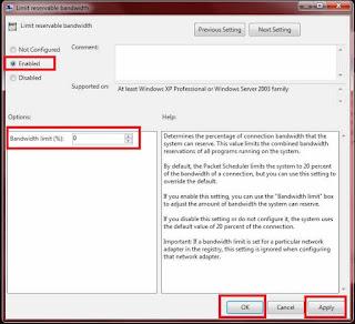 Cara Mempercepat Koneksi Internet Paling Ampuh pada Windows 7(3)