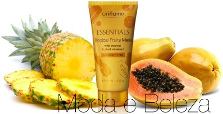 Máscara Facial Essentials Tropical Fruits