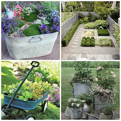 El ba l de madera jardines originales - Ideas originales jardin ...