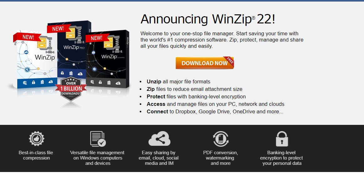 winzip download for pc 32 bit