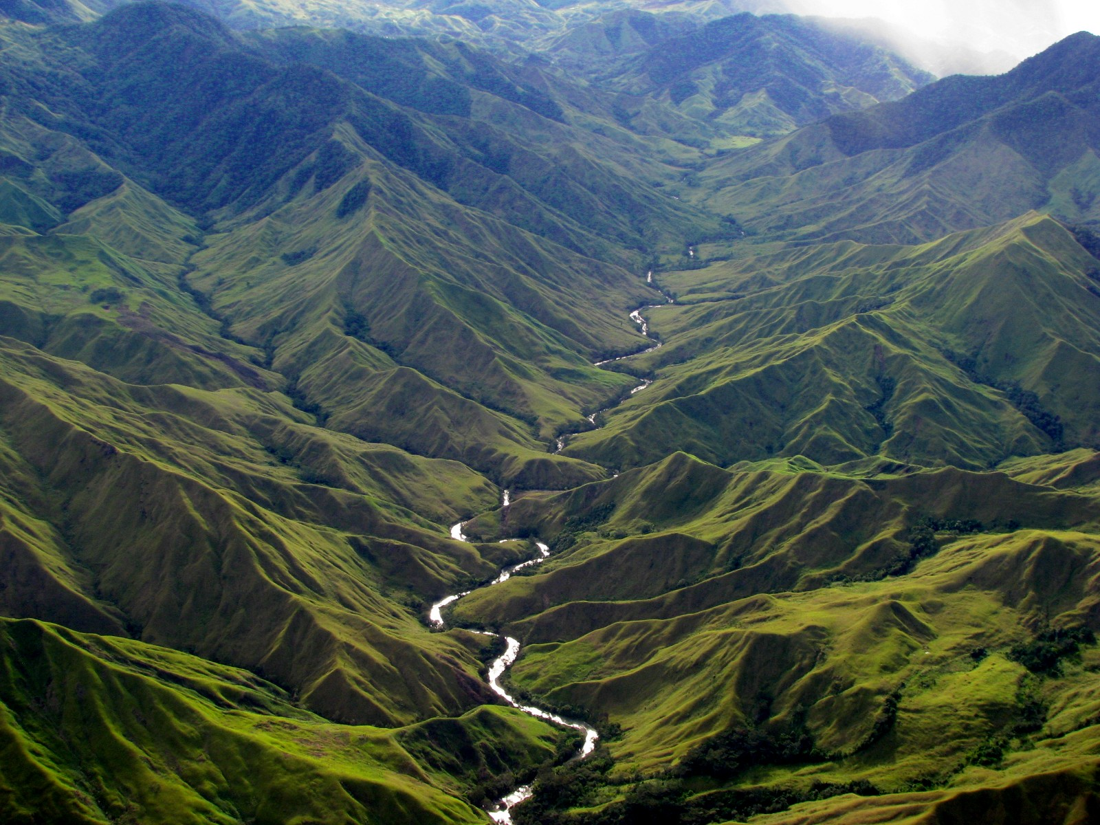 New Papua Guinea Landforms