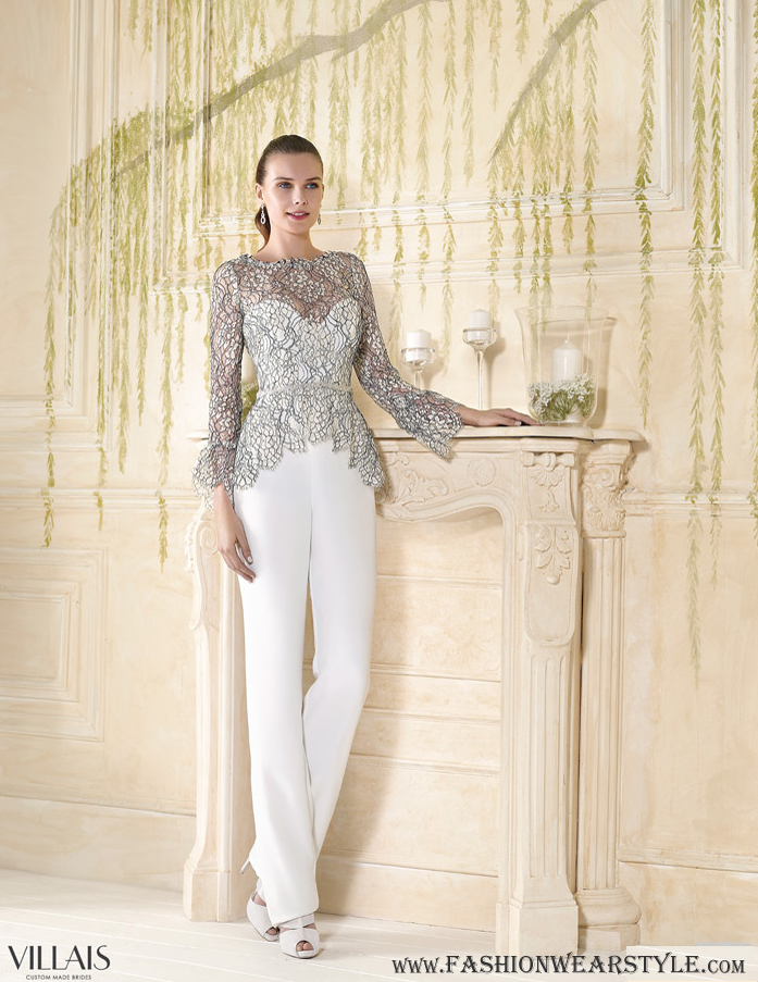 Villais Romantic Couture Bridal Dresses www.fashionwearstyle.com
