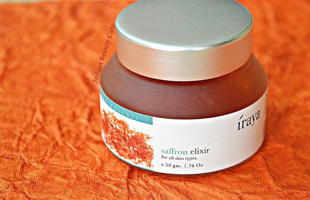 Iraya Saffron Elixir Review