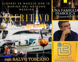APERITIVO IN 'GIALLO': PRESENTAZIONE LIBRO DI SALVO TOSCANO