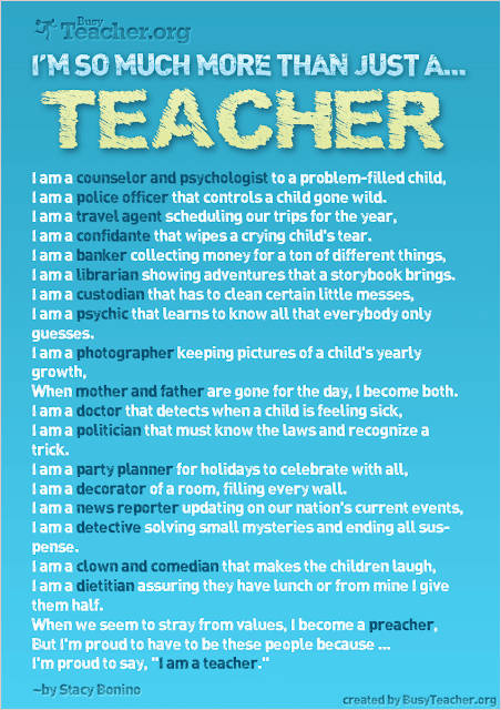 I'm so much more than just a teacher