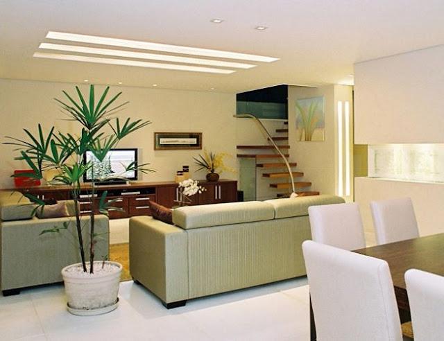 Decoracin de salas con plantas - Juegos decoracion de interiores ...