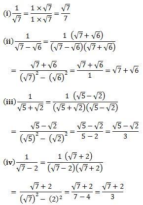 Ncert Solutions For Class 9 Maths Chapter 1 All Q A