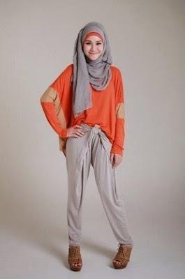 Padu Padan Celana Jogger Wanita Berhijab