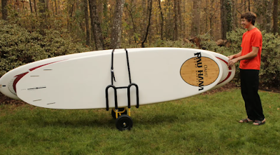 double SUP trailer cart