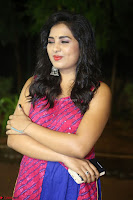 Srushti in beautiful Pink Sleeveless Dress Cute Actress Dimples ~  Exclusive 021.JPG