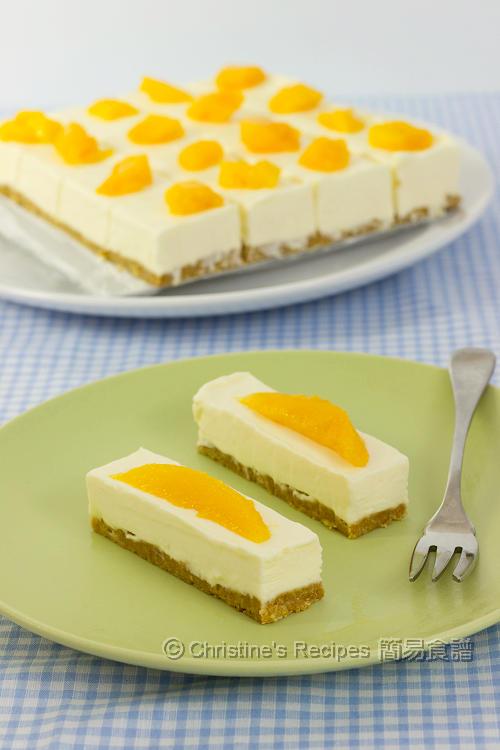 免焗芝士蛋糕【抗熱甜品】No-Bake Cheesecake