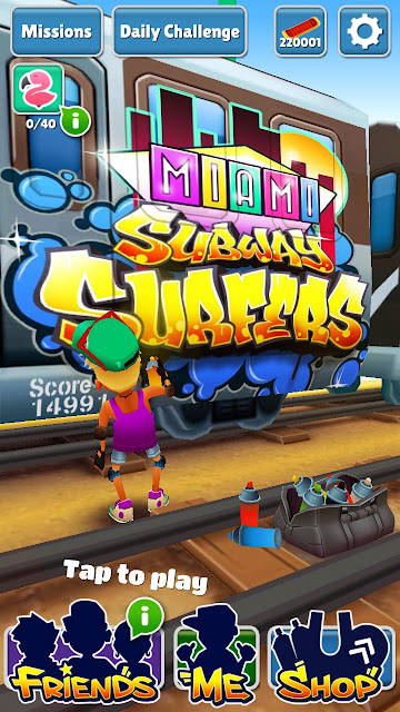 Download Subway Surfers Miami Android Unlimited Coins and Key