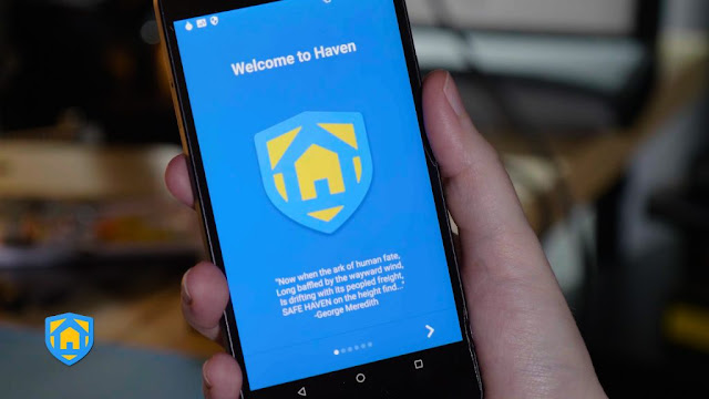Buongiornolink - Haven l'app che trasforma gli smartphone in spie