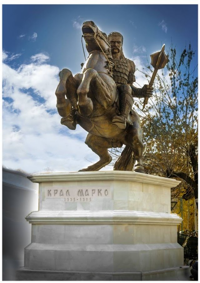 Bild des Tages - Krali Marko Statue in Prilep