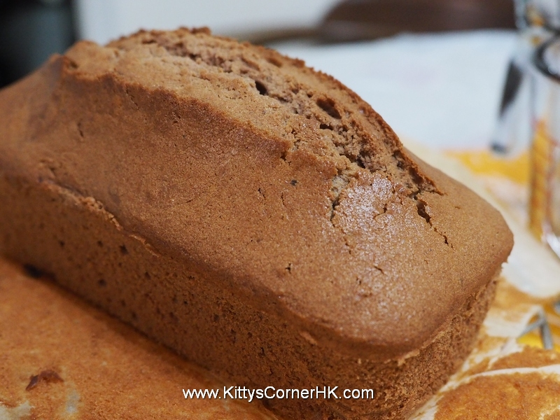 Chocolate pound cake DIY recipe 巧克力蛋糕食譜