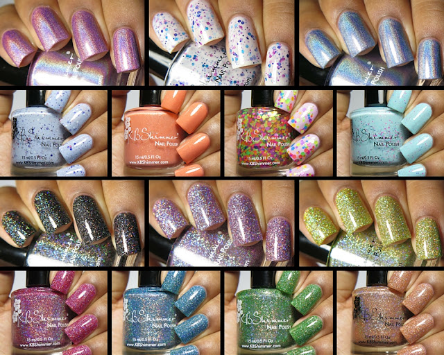kbshimmer spring 2016 and mega flame collections