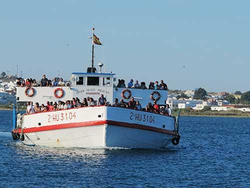 Vila Real de Santo Antonio - Ayamonte Ferry.