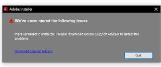 Cara Mengatasi Install Adobe Gagal