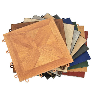 Greatmats TileFlex Vinyl Floor Tile color options trade show flooring