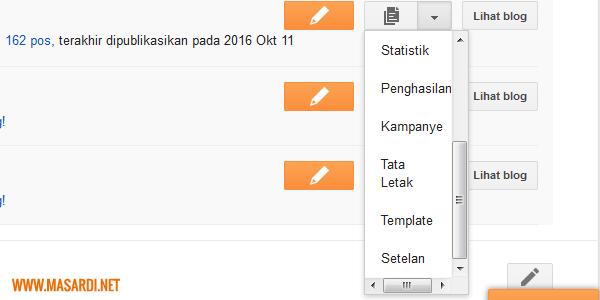 Cara menambahkan widget penting pada blog