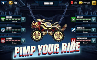 Download Mad Truck – Hill Climb Racing Apk v3.0 Mod Pimp Your Ride