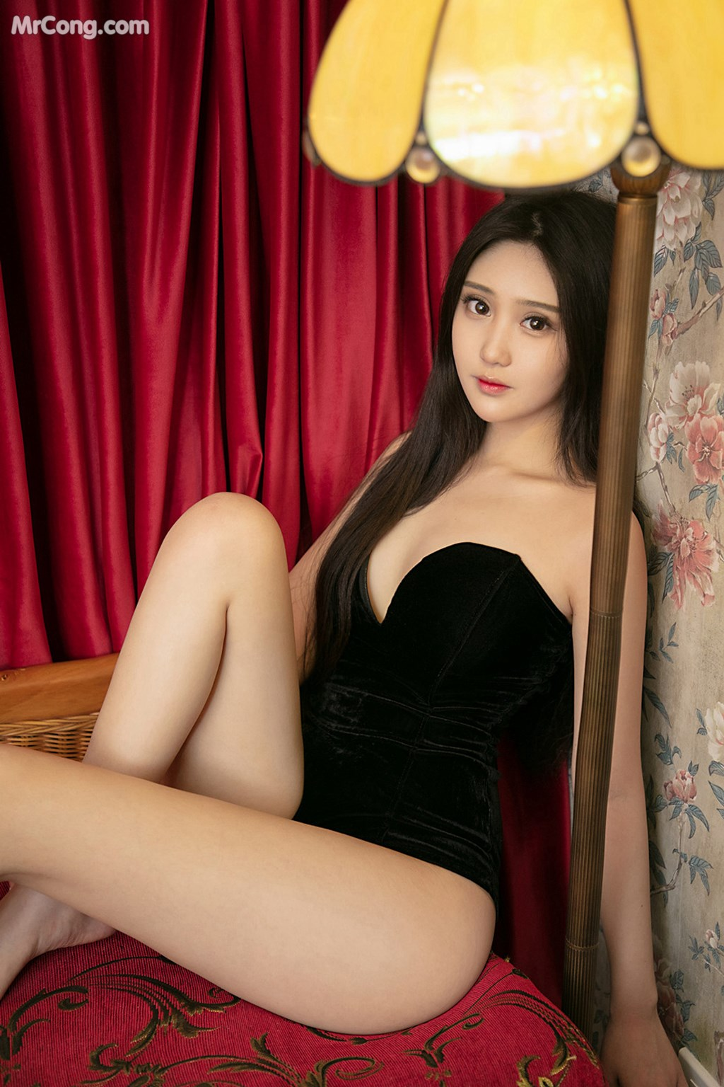 Image UGIRLS-U426-MrCong.com-006 in post UGIRLS U426: 一只香蕉船 (65 ảnh)