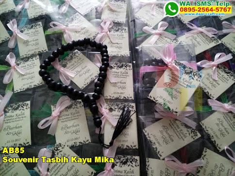 Grosir Souvenir Tasbih Kayu Mika