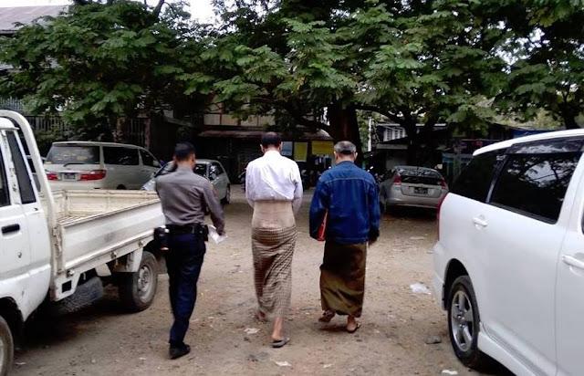 ေဆြဝင္း (Myanmar Now) ● ေနျပည္ေတာ္အျမန္လမ္းေပၚတြင္ FDA ငါးႀကီးကို ဖမ္းမိျခင္း