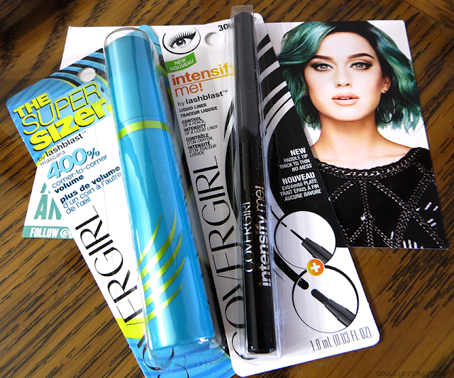 CoverGirl The SuperSizer Mascara and Intensify Me! Liquid Liner