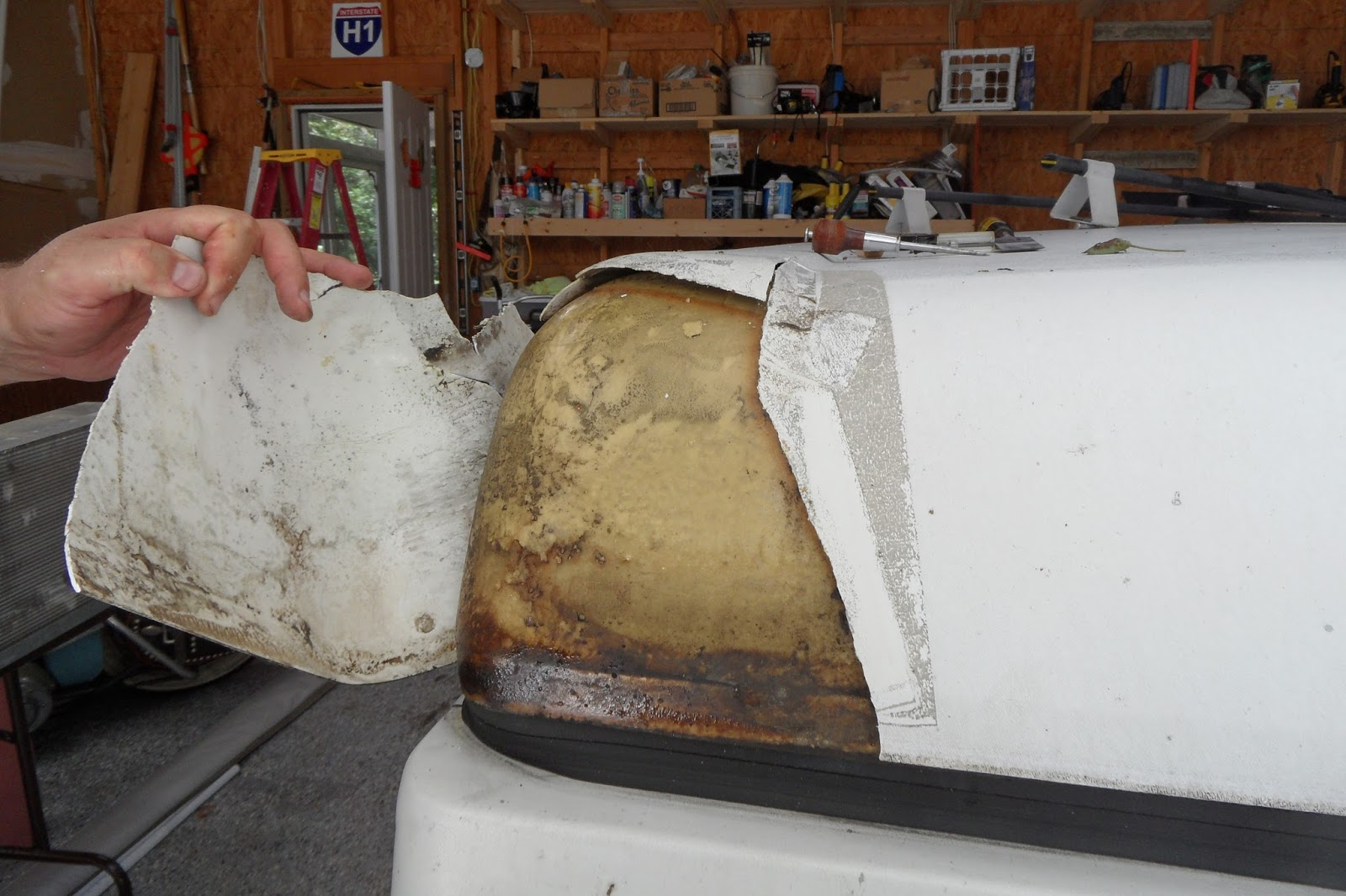 Removing the ABS roof