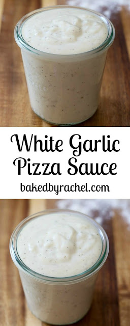 White Garlic Pizza Sauce