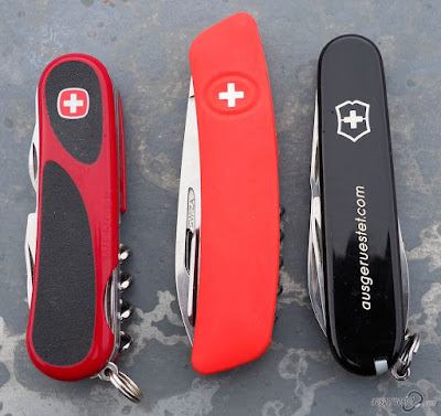 Schweizer Messer Vergleich