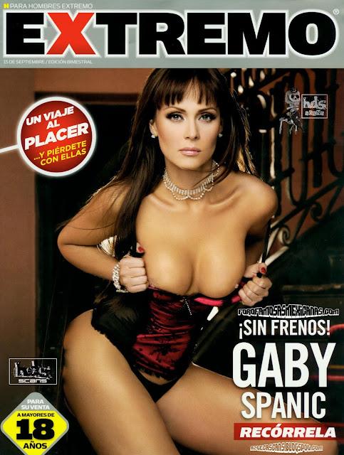 Gabriela Spanic desnuda Revista H Extremo Septiembre 2010 [FOTOS]-solorevistah.com
