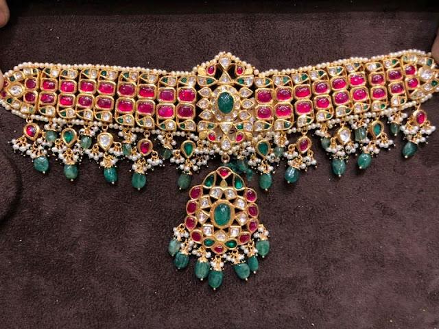 Kundan Necklaces by Premraj Jewellers