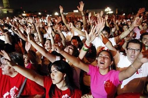 Crecimiento de evangélicos en México