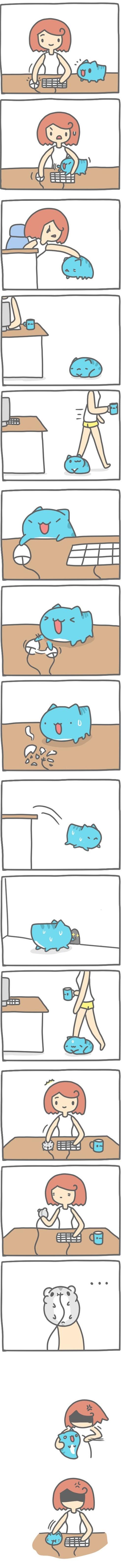 Truyện Mìn Lèo #132: Chuột máy tính