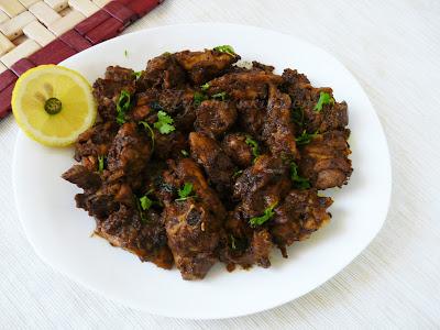 CHICKEN RECIPES - PEPPER CHICKEN - Indian style Pepper Chicken